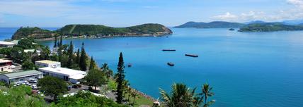 Située dans le Pacifique occidental, à l'est de l'Australie, la Nouvelle Calédonie fait partie de l'ensemble mélanésien