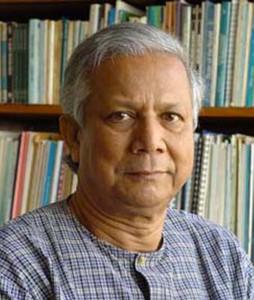 Mohammad Yunus, créateur du micro-crédit