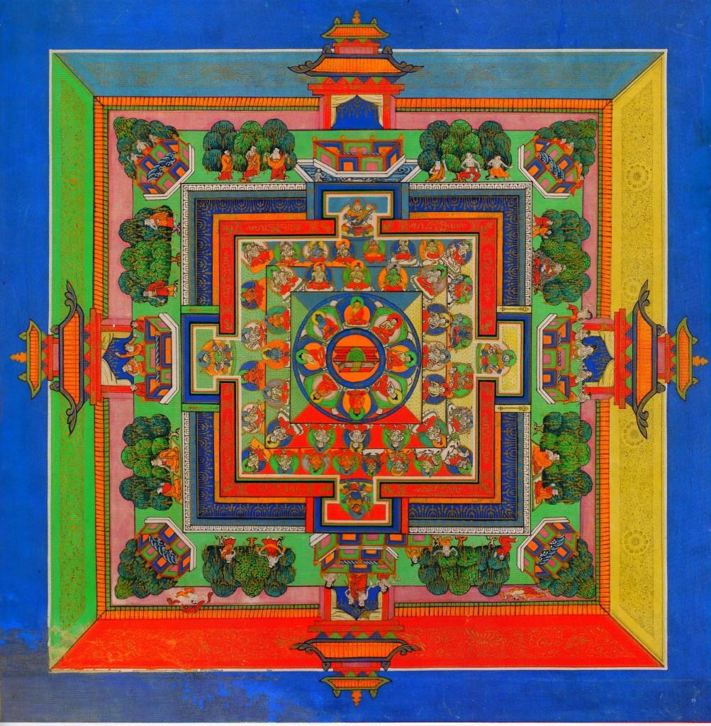 Mandala dans Livre Rouge de C.G. Jung