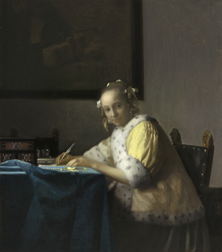 Tant les hommes que les femmes écrivaient des lettres.