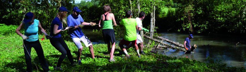 Le Volontariat est l'une des trois voies d'action de Nouvelle Acropole