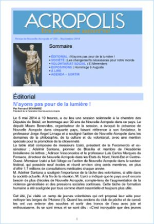 Revue Acropolis n°255