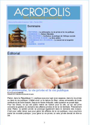 Revue Acropolis n°249