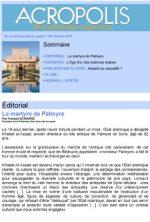 Revue Acropolis n°267