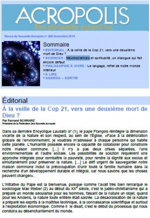 Revue Acropolis n°268