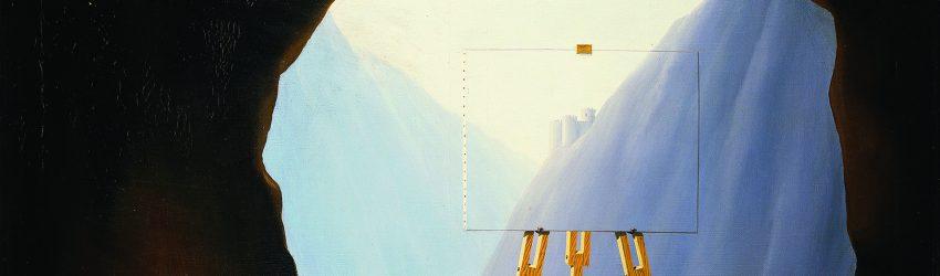 Magritte est fasciné par le thème de la lumière comme dans
