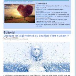 Première de couverture de la Revue Acropolis n°285