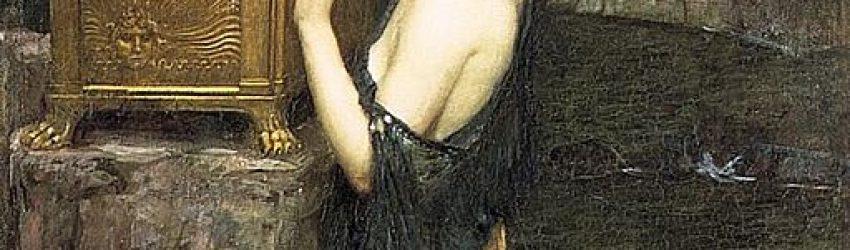 Il y a bien longtemps, les dieux envoyèrent sur terre une femme-robot d'une extraordinaire beauté, Pandore, qui profita pour ouvrir la boîte de son trésor caché qui l'accompagnait toujours, laissant tomber tous les maux connus sur cette terre.