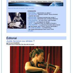 Revue Acropolis n°306