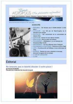 Revue Acropolis n°319