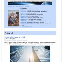 Revue Acropolis n°327